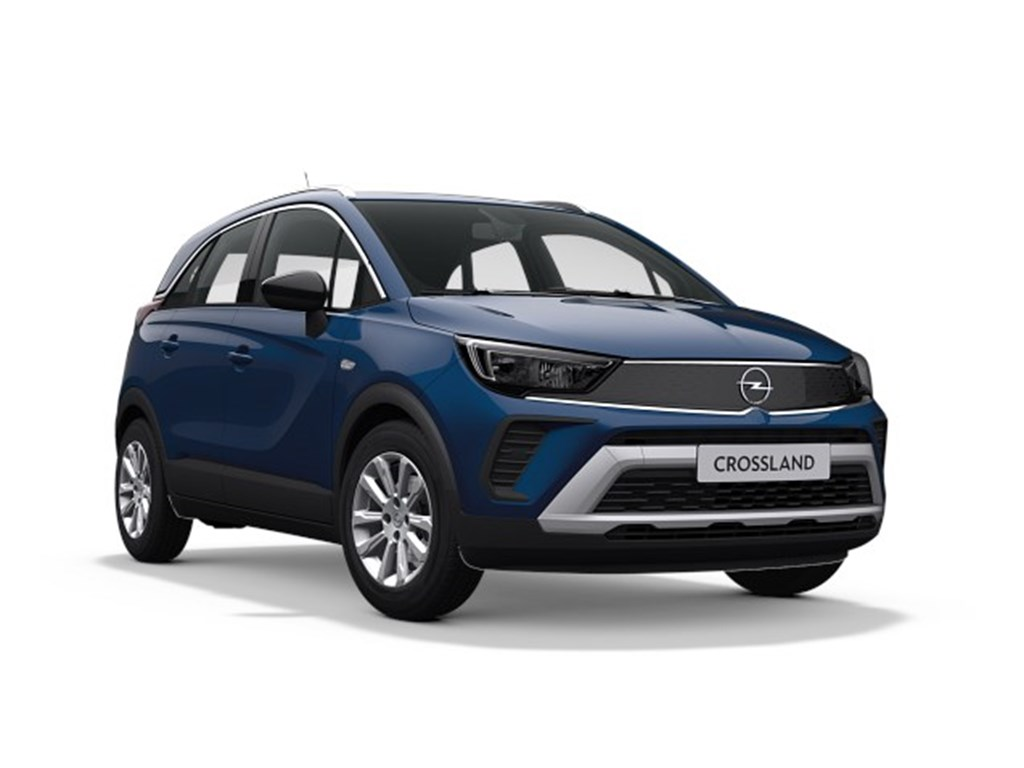 Tweedehands te koop: Opel Crossland X Blauw - Elegance 12 Turbo benz AUTOMAAT 6 StartStop - 130pk 96kw - Nieuw