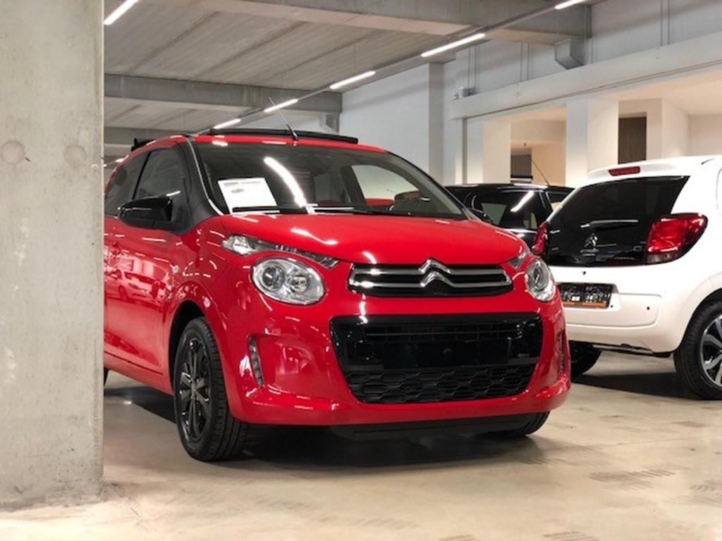 Tweedehands te koop: Citroen C1 Rood - Cabrio - Black Edition- Camera - Parkeersens -
