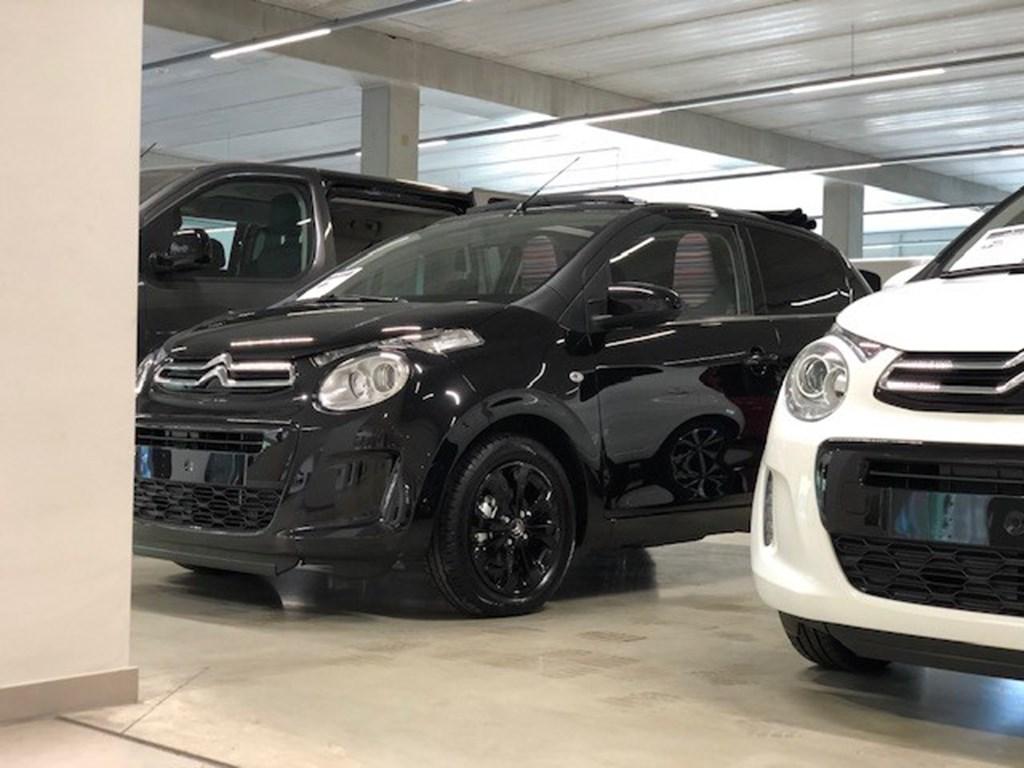 Citroen-C1-Zwart-Cabrio-Full-Black-edition-Camera-Airco-Parkeersens-