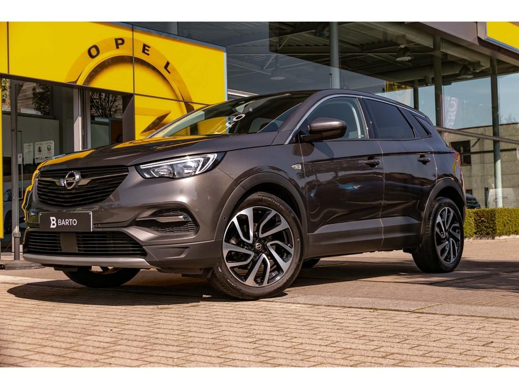 Tweedehands te koop: Opel Grandland X Grijs - 12 Turbo 130pk ATInnovationAuto Airco19