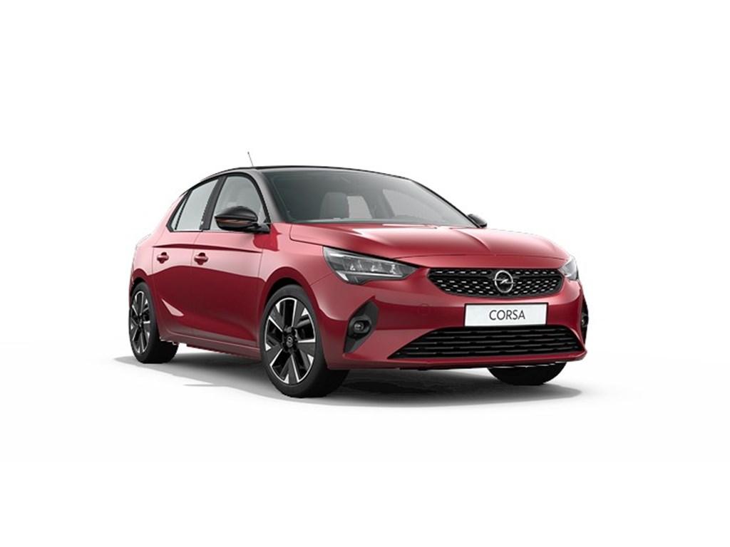 Tweedehands te koop: Opel Corsa Rood - 5-deurs - e GS Line - Elektrisch Automaat 136pk 100kw with 50kw Battery Nieuw