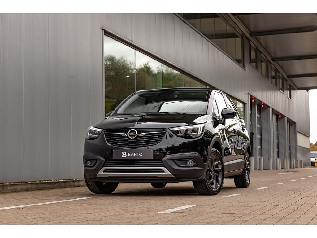 Tweedehands te koop: Opel Crossland X Zwart - Edition 2020 15Diesel 102pkCameraDodehoeksKeylessLED