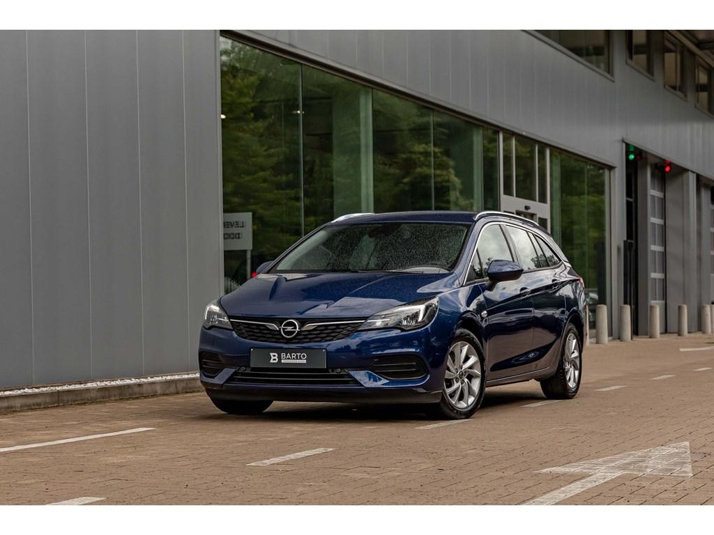 Tweedehands te koop: Opel Astra Blauw - 15TD 122pk ATEleganceVolledig LederLEDNavi ProCamera