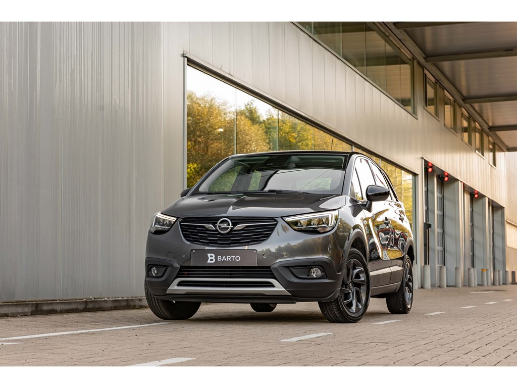 Tweedehands te koop: Opel Crossland X Grijs - 15 Diesel 102pkLEDCameraDodehoeksens