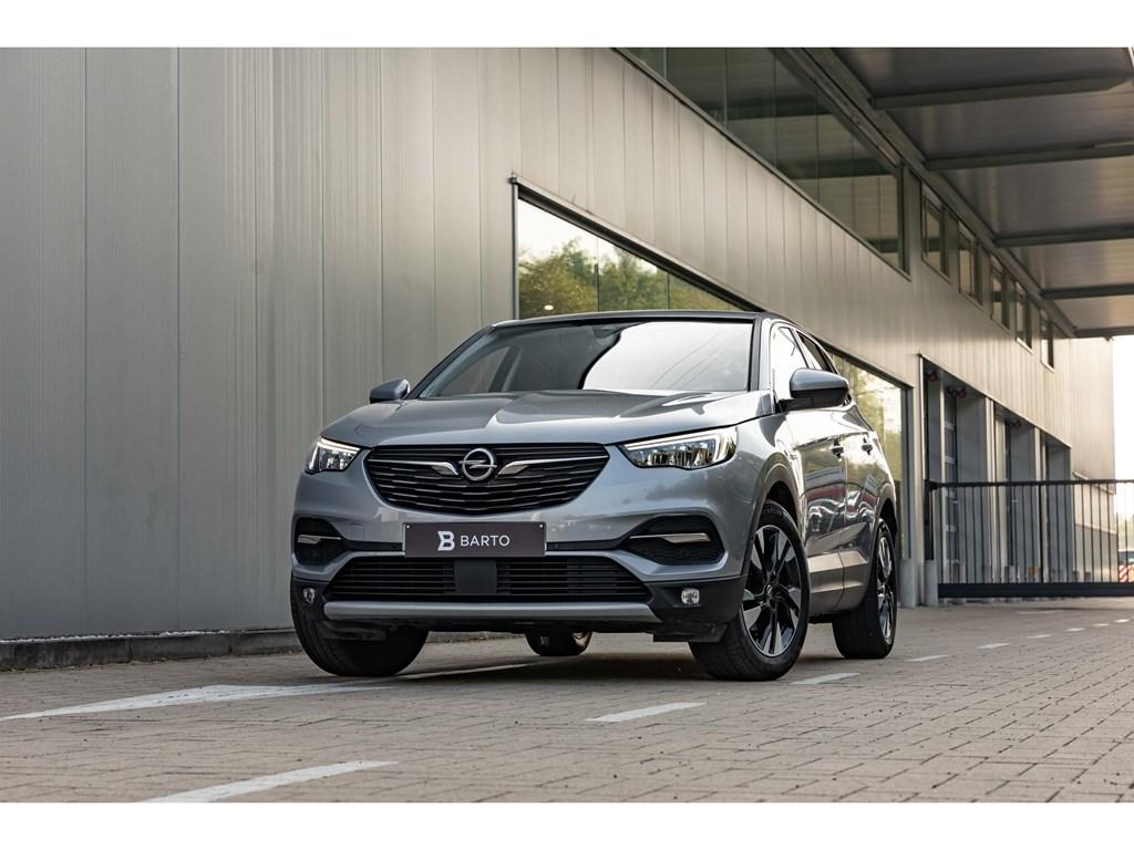 Tweedehands te koop: Opel Grandland X Grijs - 12Benz 130pkInnovatVolledig LederCamera