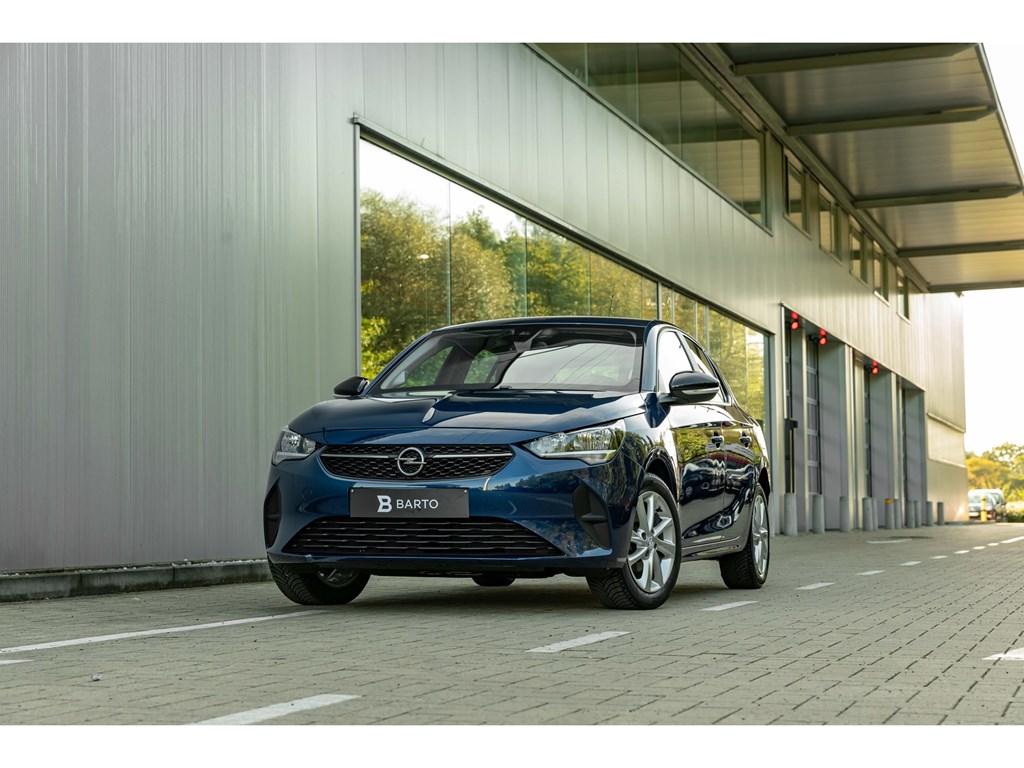 Tweedehands te koop: Opel Corsa Blauw - 12Benz 75pkEditionNaviAlu VelgParkeersensAircoWeinig kms