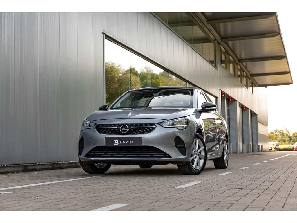 Opel-Corsa-Grijs-12Benz-75pkEditionAlu-VelgParkeersensAirco