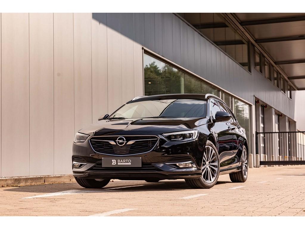 Tweedehands te koop: Opel Insignia Zwart - 15Benz 165pk ATSports Tourer InnovationOPC-lineVolledig Leder