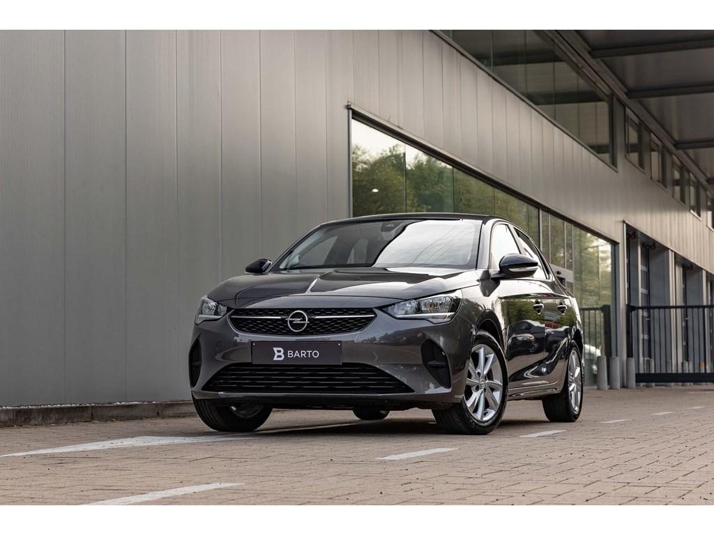 Opel-Corsa-Grijs-Edition-12-Benz-75pk-Navi-Alu-Velg-ParkeersensAirco