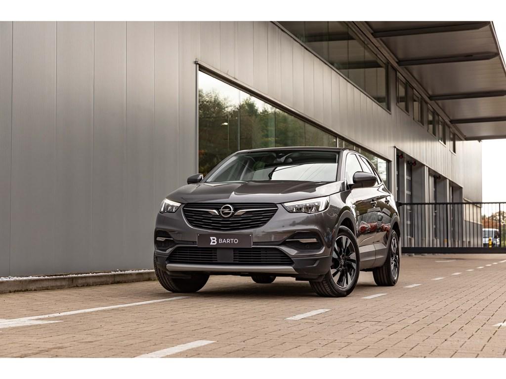 Tweedehands te koop: Opel Grandland X Grijs - 15Turbo D 130Pk AT8InnovationVolledig LederCameraDodehoeksens