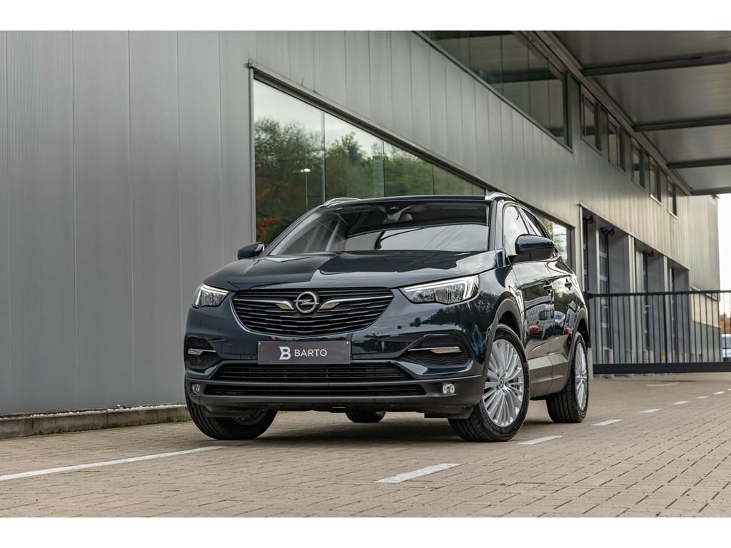 Tweedehands te koop: Opel Grandland X Grijs - 12Turbo benz 130pkNaviAuto aircoErgon Zetels
