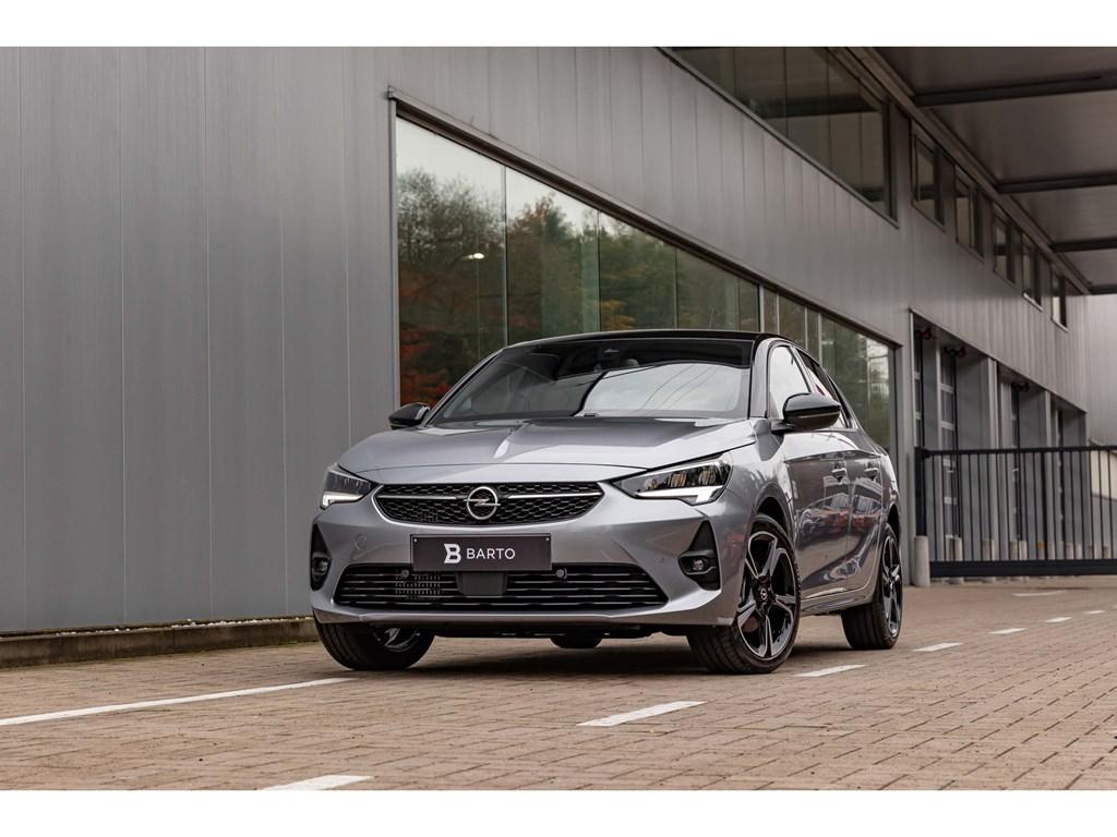 Tweedehands te koop: Opel Corsa Grijs - 12T 130PK ATGS-LineCameraLEDZetelverw