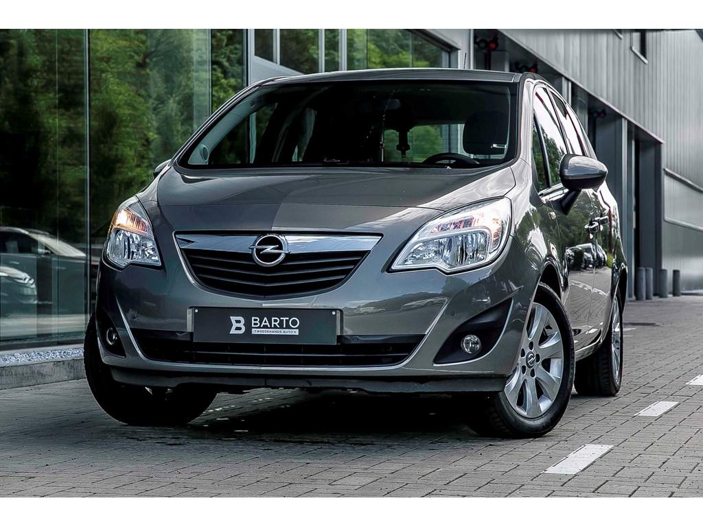 Tweedehands te koop: Opel Meriva Bruin - 14 Benzine - enjoy - Parksens- Trekhaak - alu velgen