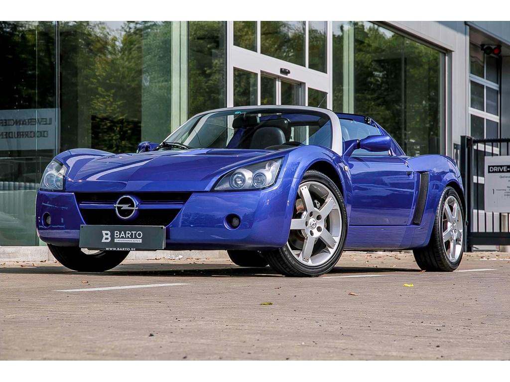Opel-Speedster-Blauw-22-Benz-Originele-staat-Weinig-Kms