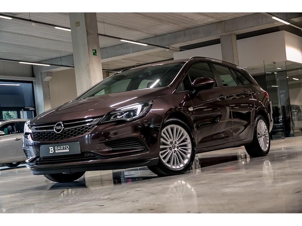 Opel-Astra-Bruin-K-Sports-Tourer-break-Edition-16-CDTi-110pk-NIEUW-MODEL-Navi-Parkpilot-Alu-velgen