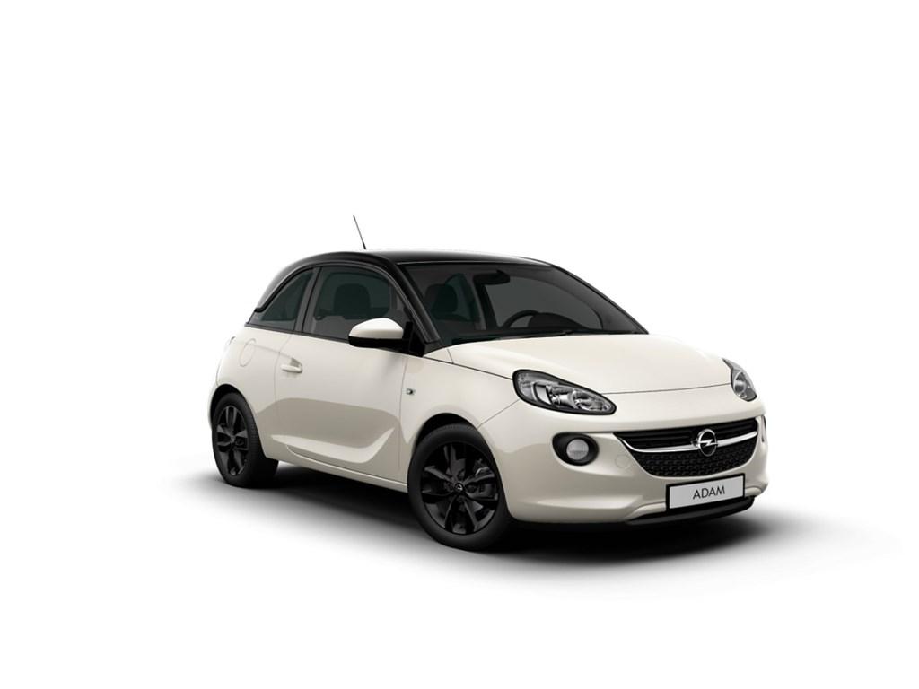 Tweedehands te koop: Opel ADAM Wit - 12 Jam - Nieuw - Intellilink - Parkeersens
