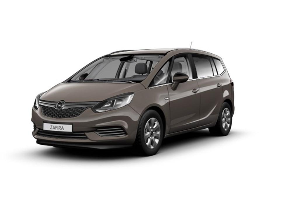 Opel-Zafira-Grijs-14-Turbo-120pk-Edition-Nieuw-7-Zit-Navigatie