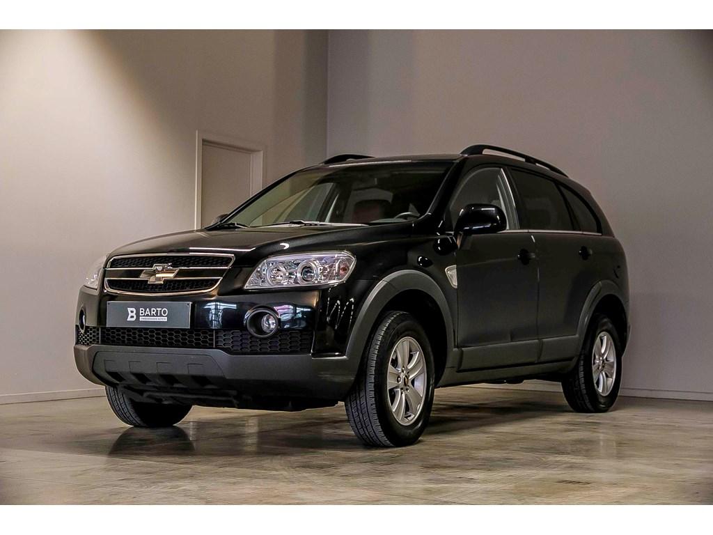 Tweedehands te koop: Chevrolet Captiva Zwart - Leder - Navigatie - Weinig kms