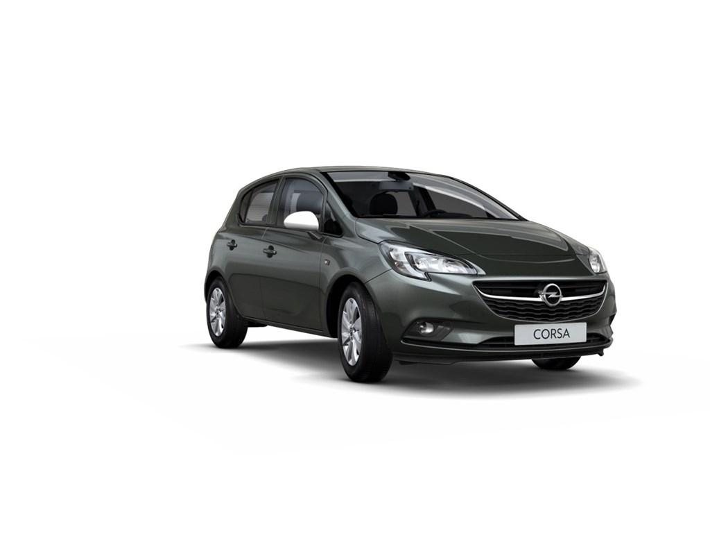 Tweedehands te koop: Opel Corsa Grijs - 5-Deurs 14 Enjoy 90pk - Nieuw - Intellilink - Automaat