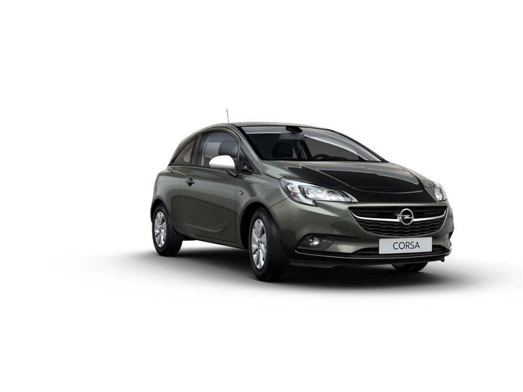 Tweedehands te koop: Opel Corsa Zwart - 3-Deurs 12 Enjoy 70pk - Nieuw - intellilink