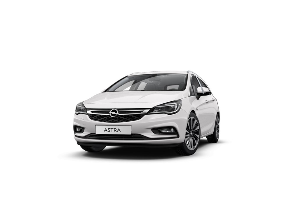 Tweedehands te koop: Opel Astra Wit - Sports Tourer 14 Turbo 125pk Innovation - Nieuw