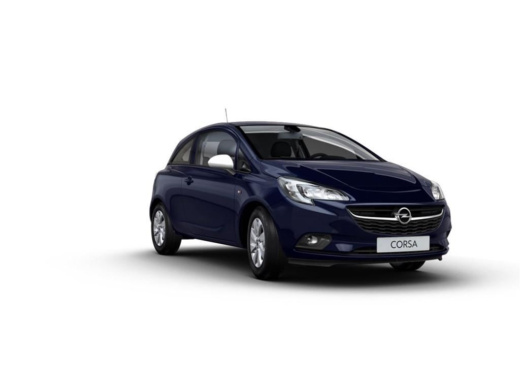 Tweedehands te koop: Opel Corsa Blauw - 3-Deurs 12 Enjoy 70pk - Nieuw