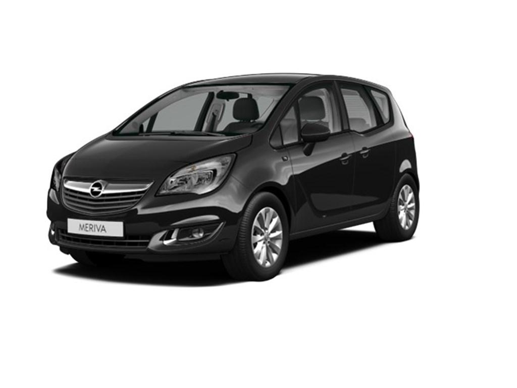 Opel-Meriva-Zwart-14-Benz-100pk-Ultimate-Edition-Nieuw-