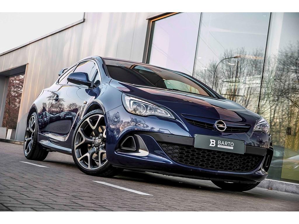 Tweedehands te koop: Opel Astra Blauw - OPC 280pk - Leder Full electr - Xenon - Extreme Pack - Fabriekswaarborg tot 2020