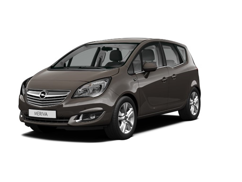 Tweedehands te koop: Opel Meriva Anthraciet - 14 Benz 100pk Cosmo - Demo wagen