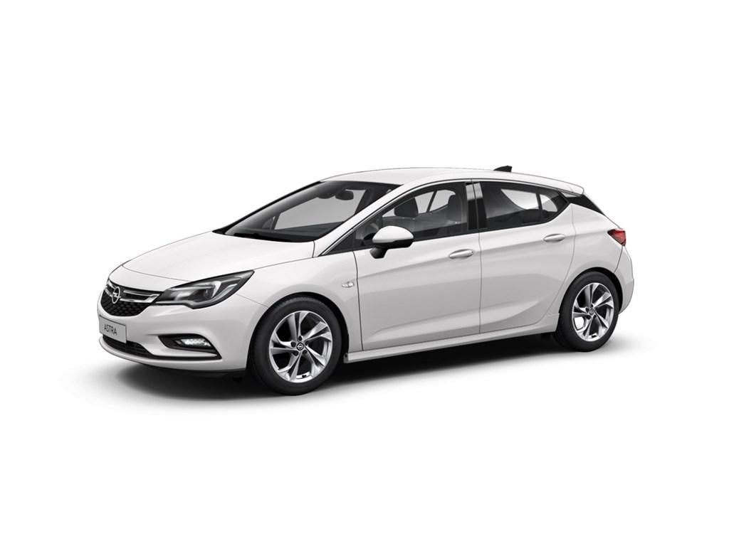 Tweedehands te koop: Opel Astra Wit - 5-Deurs 14 Turbo 125pk Dynamic - Nieuw
