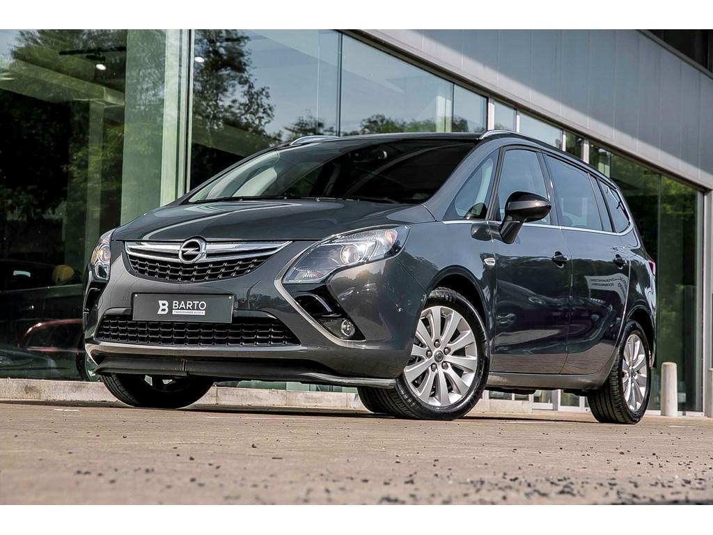 Tweedehands te koop: Opel Zafira Tourer Grijs - Cosmo - 14T - Automaat - 7 zit - Camera - Navi