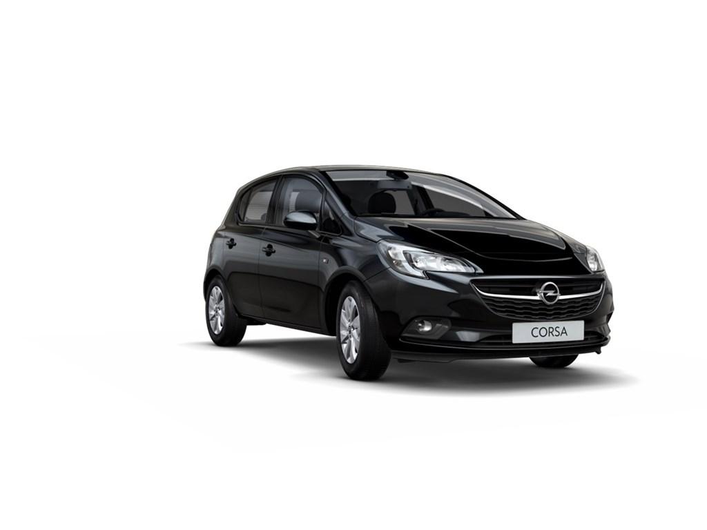 Tweedehands te koop: Opel Corsa Zwart - 5-Deurs 10 Turbo Enjoy 90pk - Nieuw