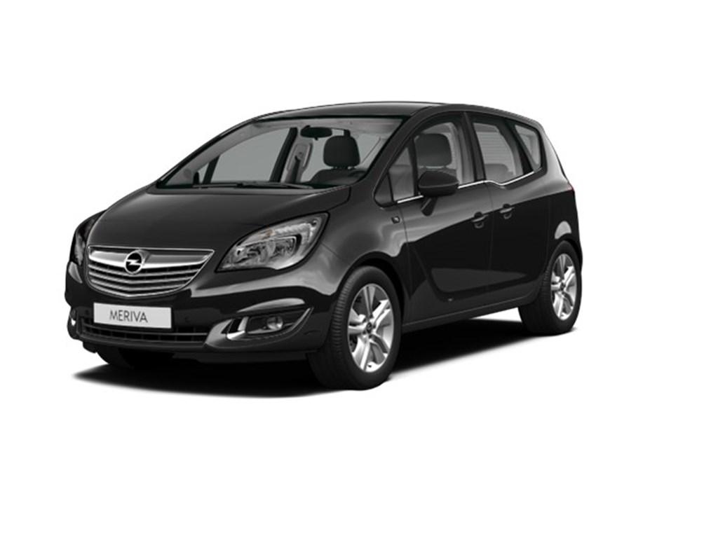 Tweedehands te koop: Opel Meriva Zwart - 14 Turbo Ultimate Plus Edition - Automaat - 120pk - NIEUW