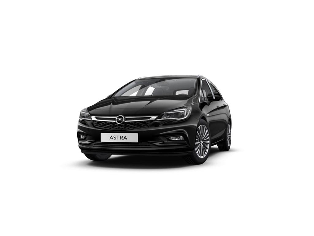 Tweedehands te koop: Opel Astra Zwart - Sports Tourer 14 Turbo 125pk Innovation - Nieuw