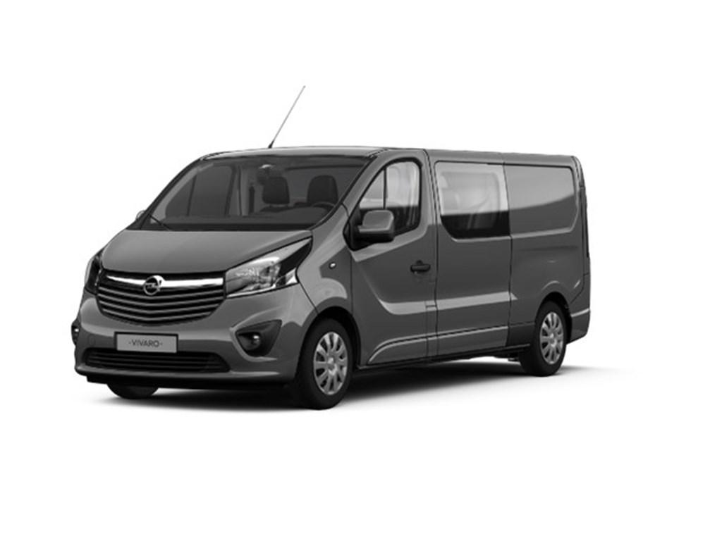 Tweedehands te koop: Opel Vivaro Grijs - 16 CDTi Dubbele Cabine Sportive - Nieuw
