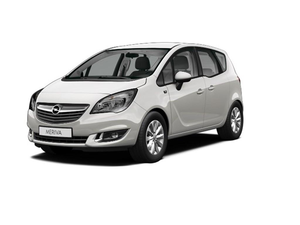 Opel-Meriva-Zilver-14-Benz-100pk-Ultimate-Edition-Nieuw