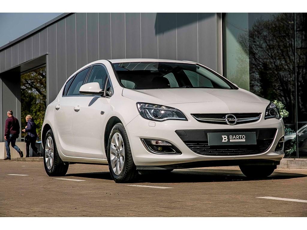 Tweedehands te koop: Opel Astra Wit - Verkocht - Proficiat Nathalie