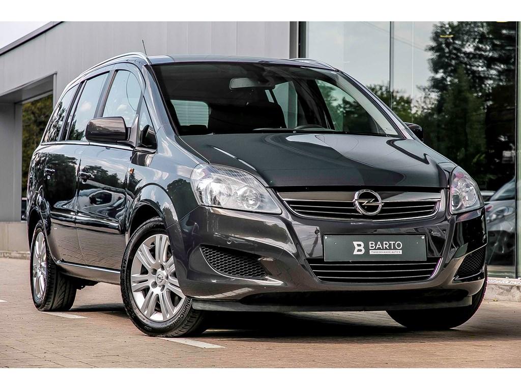 Tweedehands te koop: Opel Zafira Grijs - 17 Cdti Ecoflex - Trekhaak - 7 zit - Parkeersens