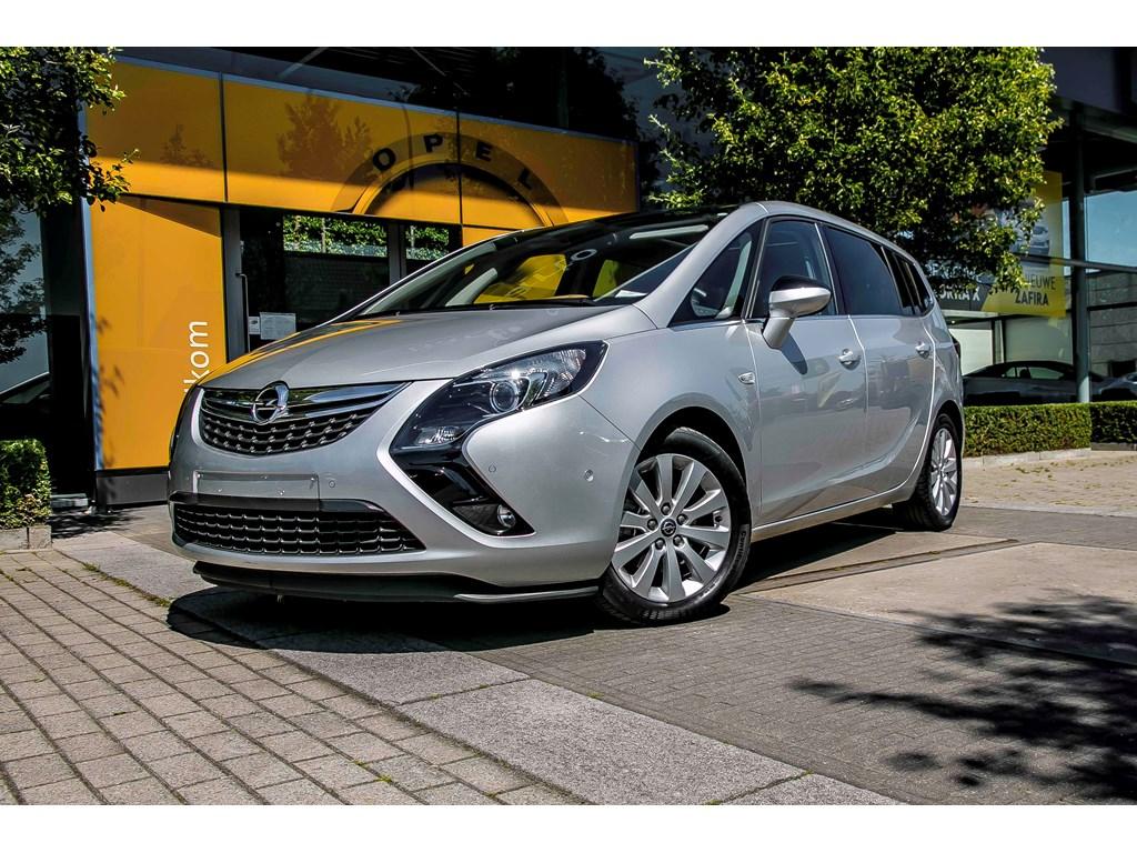 Tweedehands te koop: Opel Zafira Tourer Zilver - 16Cdt 136pk - Cosmo - Panor dak - Weinig kms