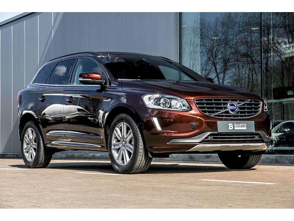 Volvo-XC60-Bruin-Momentum-Xenon-Autom-Koffer-Donkere-ramen-Winterpack-Alu-velgen