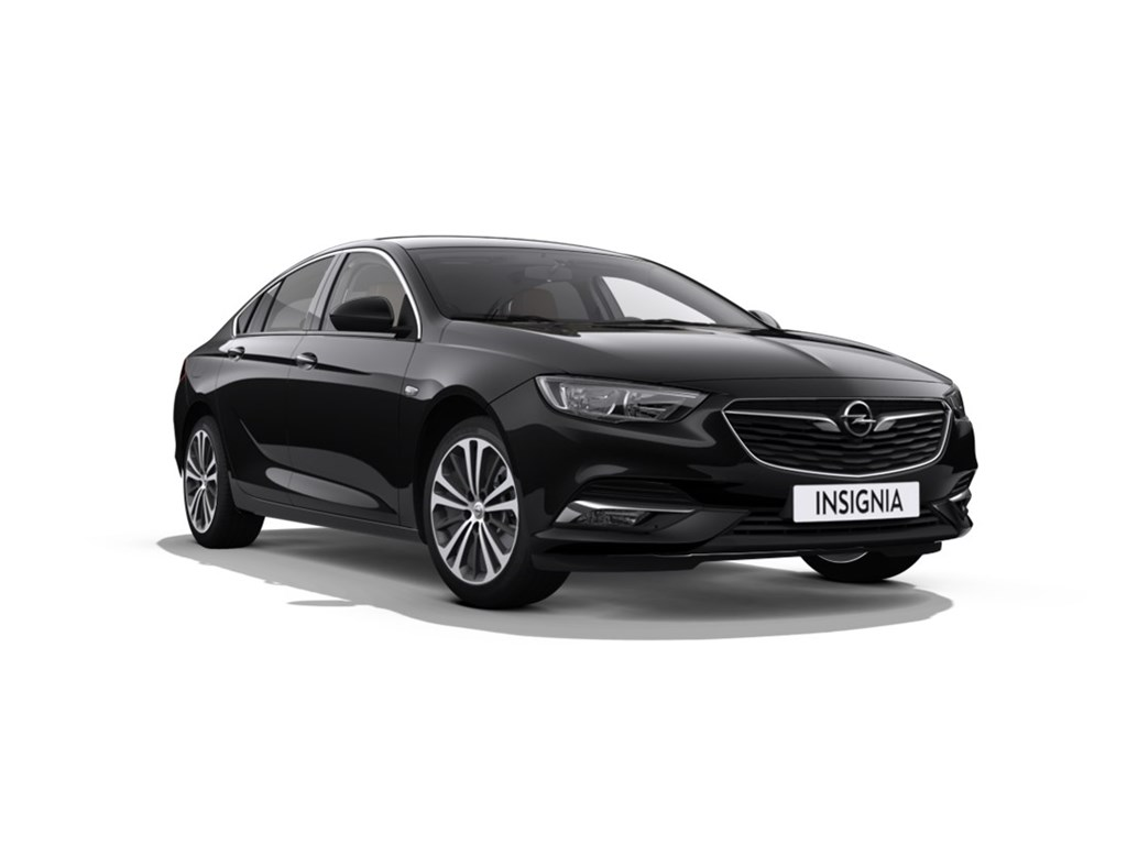 Tweedehands te koop: Opel Insignia Zwart - Grand Sport - NIEUW model - Innovation - 15 Turbo - Leder -
