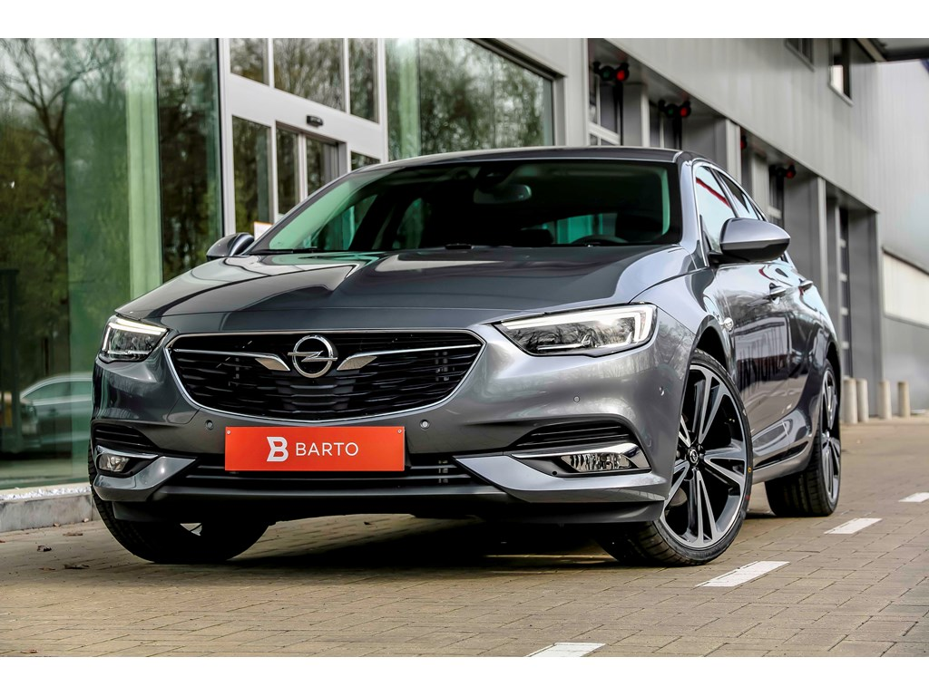 Tweedehands te koop: Opel Insignia Grijs - Grand Sport - Innovation - 15 Turbo Automaat - Leder - 20 -LED matrix - 360 camera-