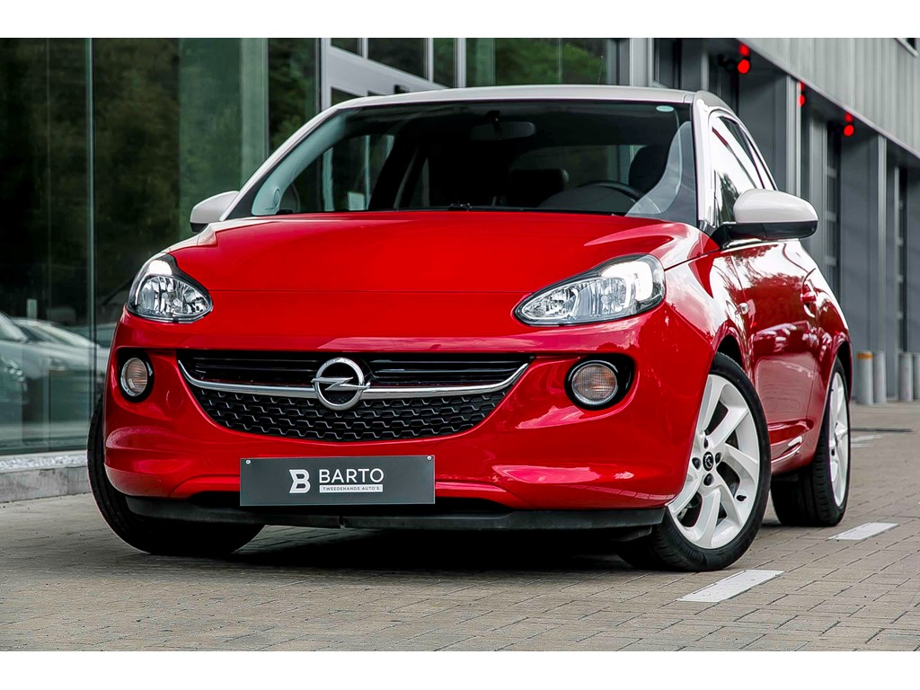 Tweedehands te koop: Opel ADAM Rood - 14 Benz 100pk - Intellilink - Airco - Usb -
