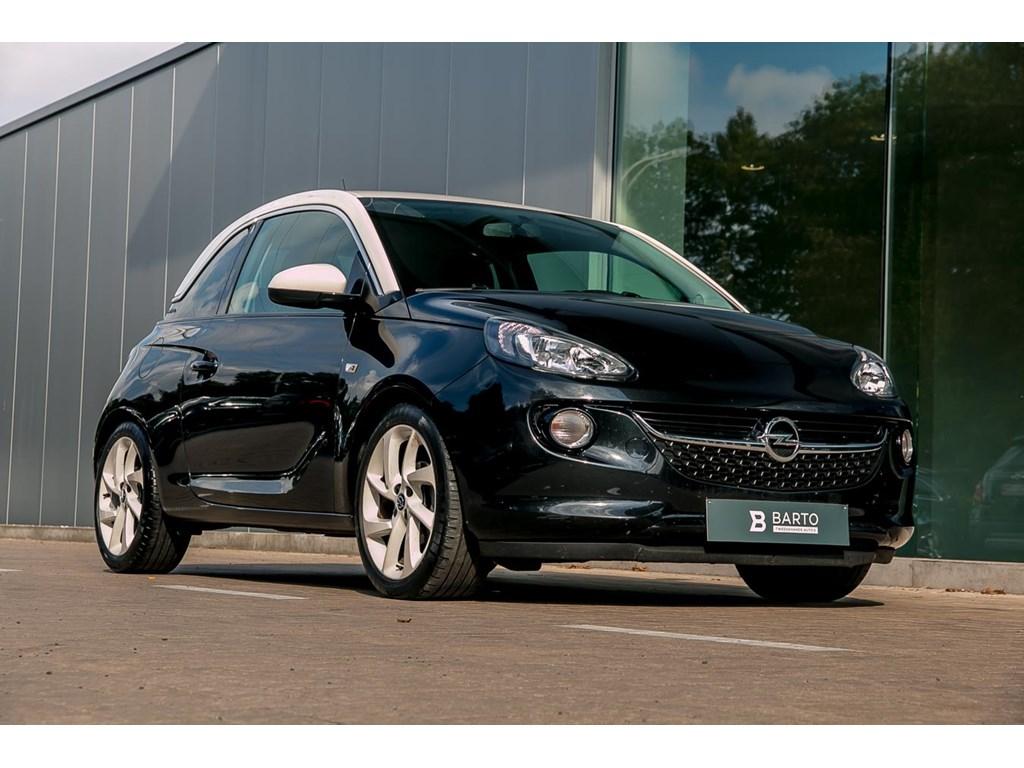 Tweedehands te koop: Opel ADAM Zwart - Jam 14 Benz - Half Leder - Chromepack - Autom Airco