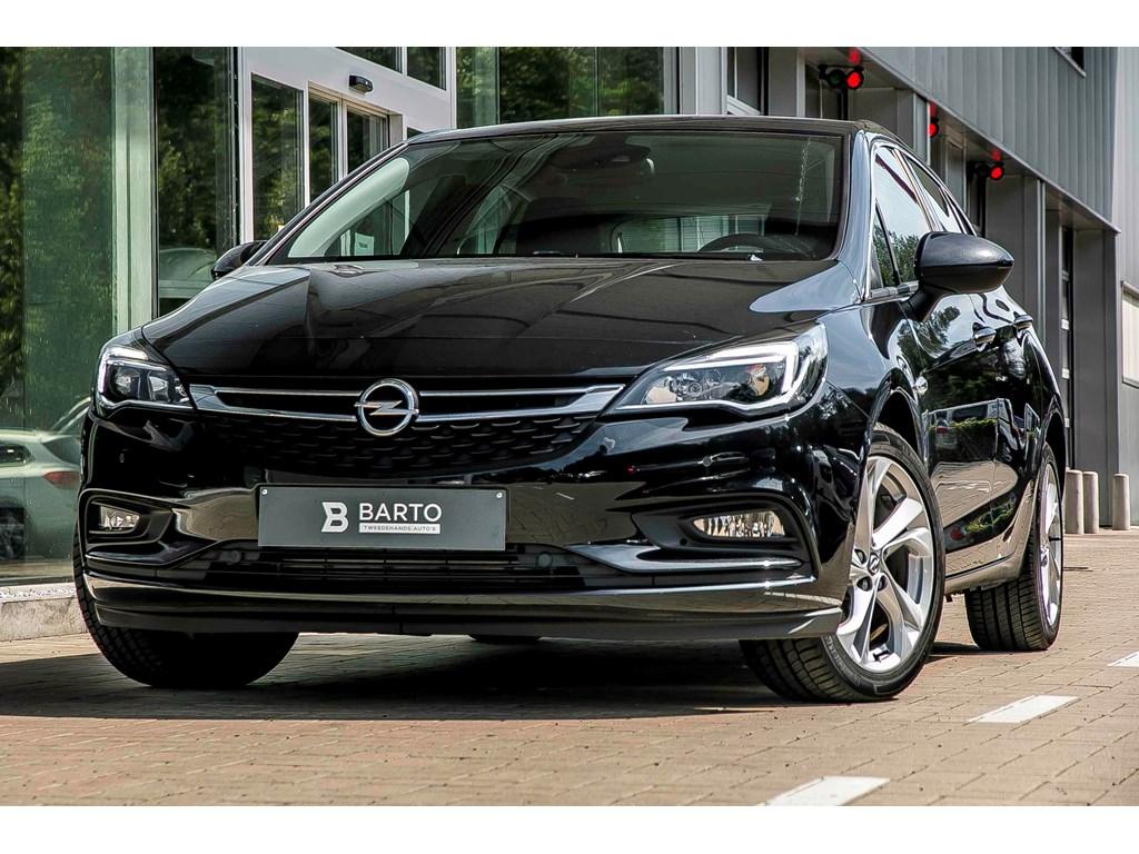 Opel-Astra-Zwart-DEMO-Wagen-5-Deurs-10-Turbo-105pk-Innovation-Nieuw-