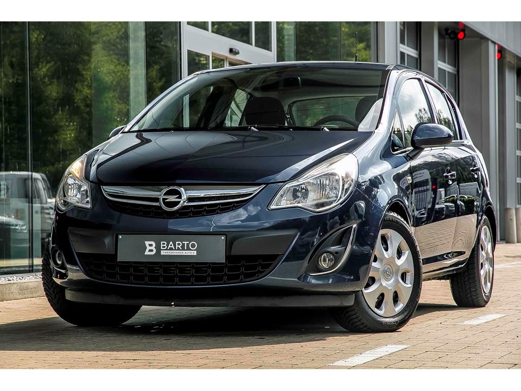 Tweedehands te koop: Opel Corsa Blauw - 13d 95pk - 5deurs - Airco - Cruisecontr - Bluetooth -