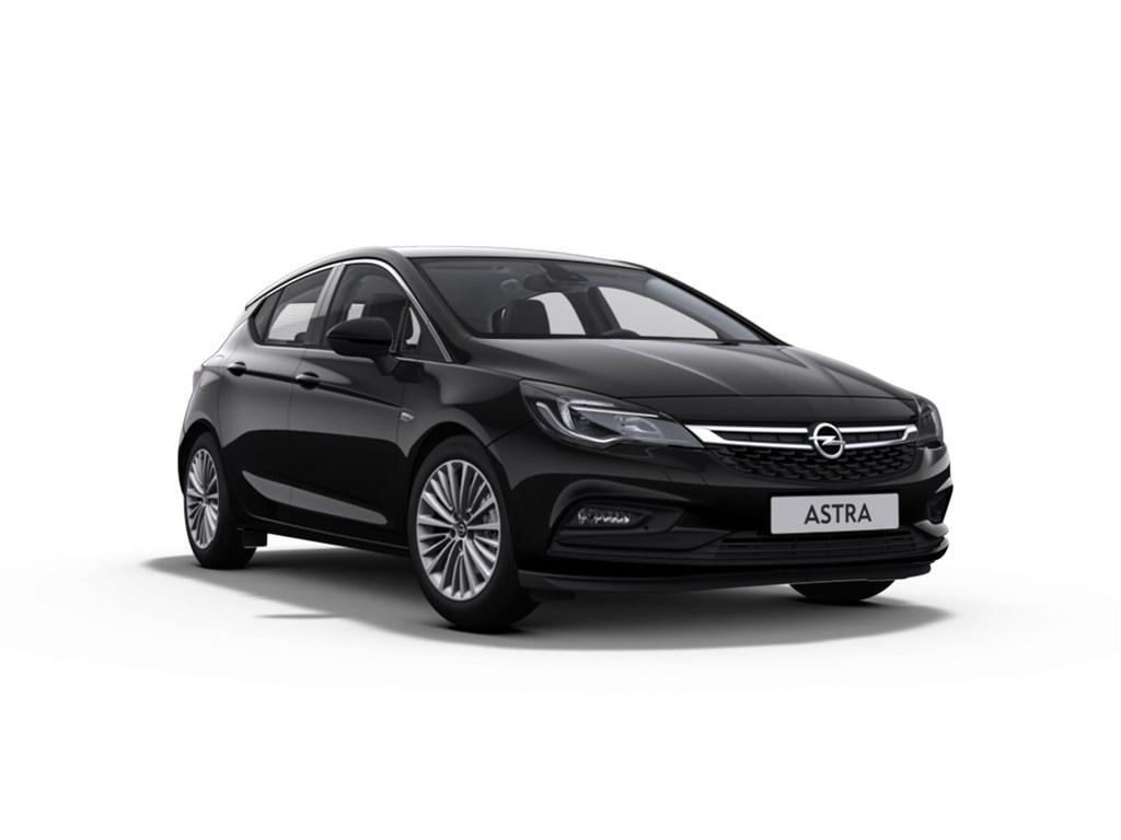 Tweedehands te koop: Opel Astra Zwart - DEMO Wagen 5-deurs Innovation 14 Turbo 125pk - Nieuw