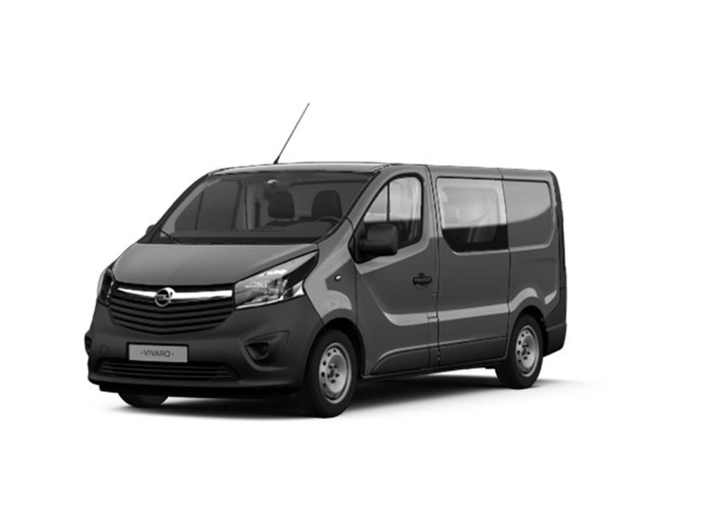 Tweedehands te koop: Opel Vivaro Grijs - Dubbele Cabine Edition L1H1 Lichte vracht - 5pl - 16 CDTi 120pk - Nieuw