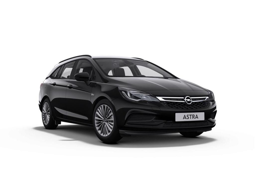 Tweedehands te koop: Opel Astra Zwart - Sports Tourer 10 Turbo 105pk ecoFLEX SS Edition - Nieuw