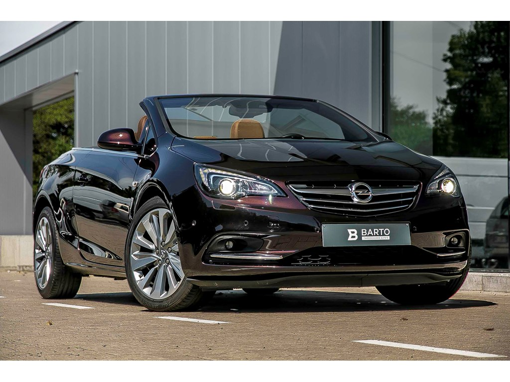 Tweedehands te koop: Opel Cascada Bruin - Cosmo 170pk - Xenon - Navi Camera - Flexride - Premium Nappa leder